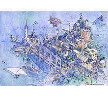 paesaggio di fantasia 02 Photographic Print