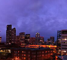 Seattle at Dawn by Louis Kinley