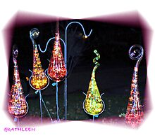 Glass Ornaments Photographic Print