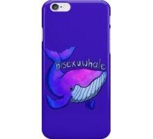 Bisexuwhale iPhone Case/Skin