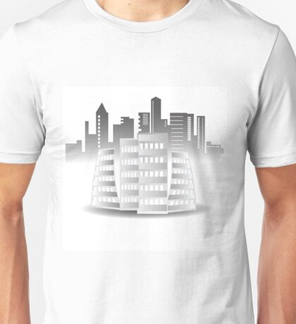 abstract buildings Unisex T-Shirt