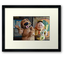Disney Pixar UP Russell Dug  Framed Print