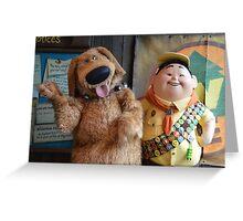 Disney Pixar UP Russell Dug  Greeting Card