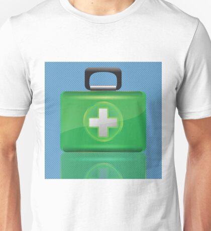 green box Unisex T-Shirt