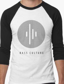 """Bass culture logo """"mind blown"""" Men's Baseball ¾ T-Shirt"""