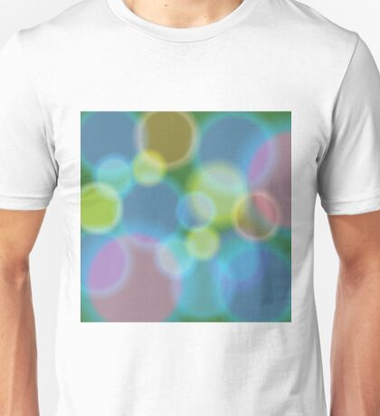 abstract new year background Unisex T-Shirt