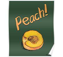 Peach! Poster