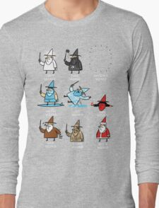 Know Your Wizards ! Long Sleeve T-Shirt