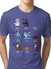 Know Your Wizards ! Tri-blend T-Shirt