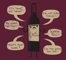 Stop Wine-ing ! by zinodaur