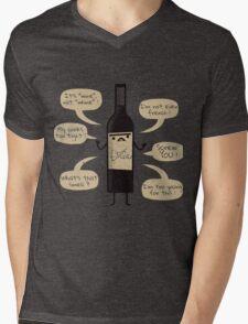 Stop Wine-ing ! Mens V-Neck T-Shirt