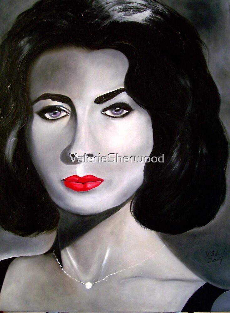 Elizabeth Taylor by ValerieSherwood