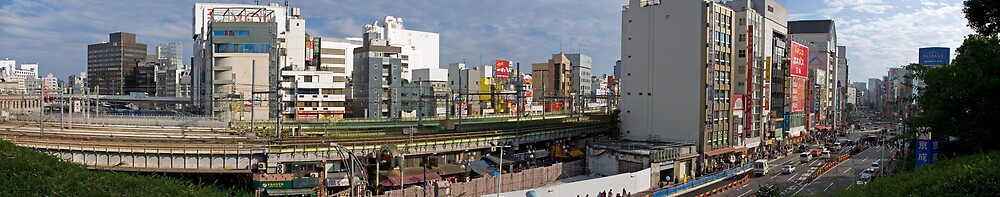 Tokyo Panoramic I by shadow2