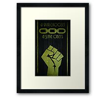 BioShock - A man Chooses Framed Print