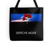 Depeche Mode : Music For The Masses Paint 2 - DM - Black Shirt Tote Bag