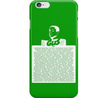 The Many Names of Burton Guster iPhone Case/Skin
