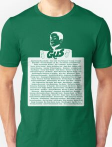 The Many Names of Burton Guster T-Shirt