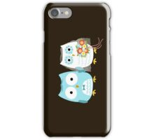 Owls Wedding Bride and Groom iPhone Case/Skin
