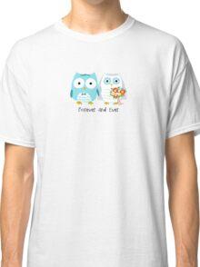 Owls Wedding Bride and Groom Classic T-Shirt