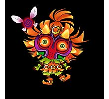 Tael and the Skull Kid Photographic Print