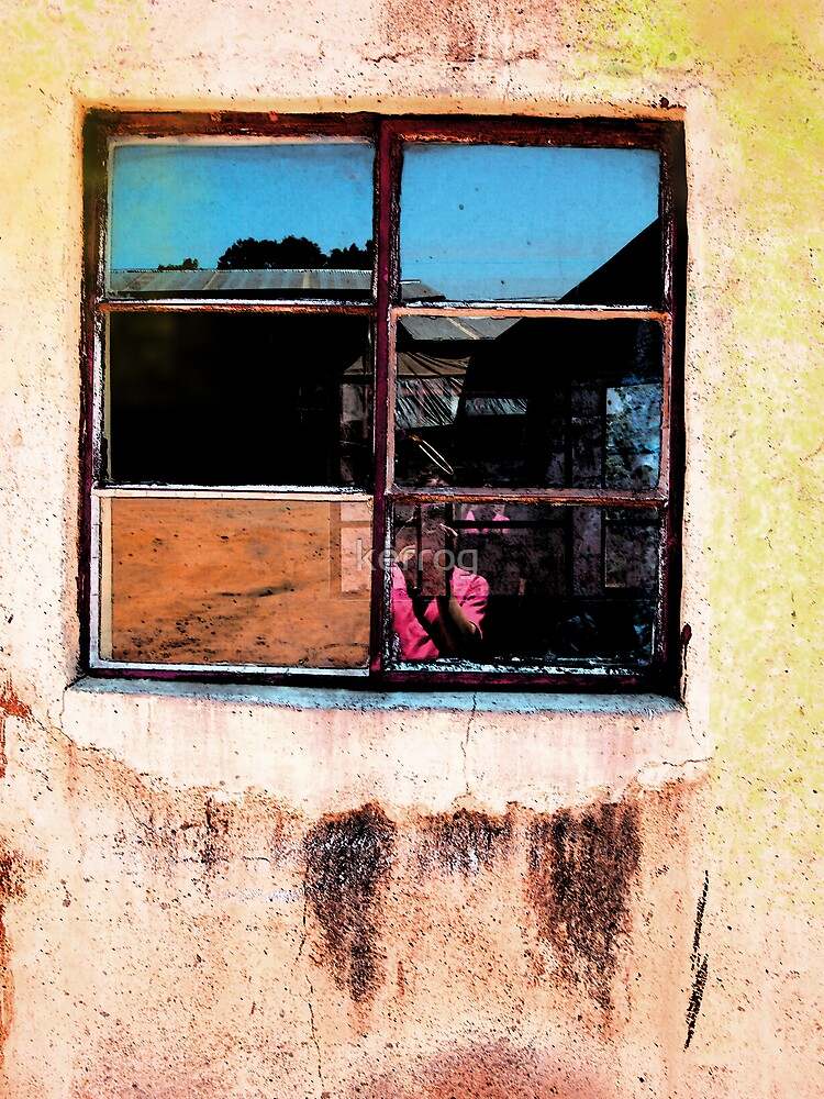 Yellow Window by Kerryn Rogers
