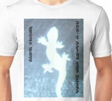 glowing gecko Unisex T-Shirt