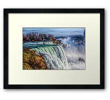 The American Falls Framed Print