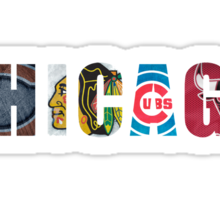 Chicago Sports Sticker