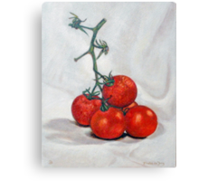 Tomatoes 3 Canvas Print