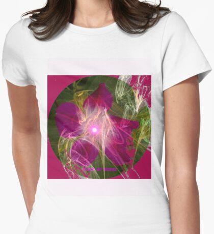 Fleur de Deans Abst Womens Fitted T-Shirt