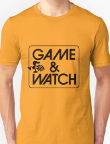 Game and Watch Man Unisex T-Shirt