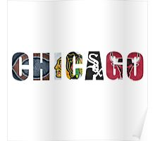 Chicago Sports Poster