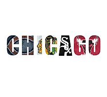 Chicago Sports Photographic Print