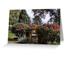A front yard garden Greeting Card