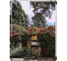 A front yard garden iPad Case/Skin