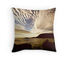 Waiting for the light II Throw Pillow
