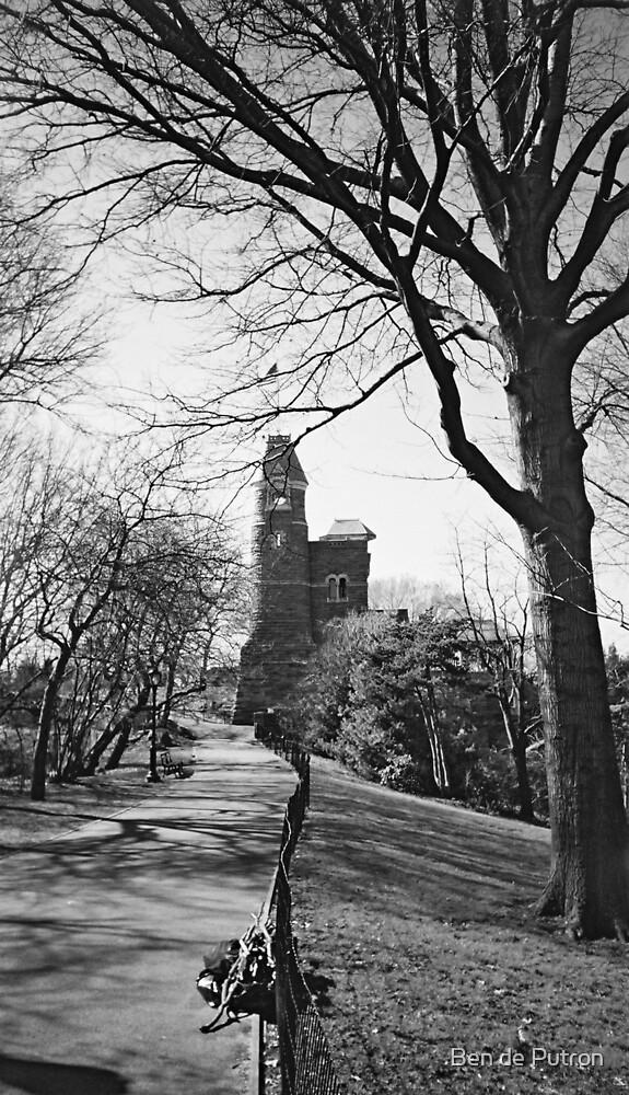 Castle in Central Park  by Ben de Putron