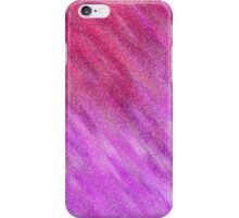 Glittery Sunburst - Pink and Red iPhone Case/Skin