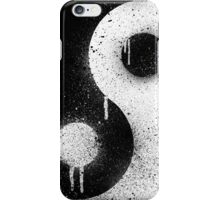 Graffiti Zen Master - Spray paint yin yang iPhone Case/Skin