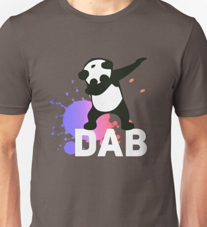 DAB PANDA dab on em dabber dance football touch down red Unisex T-Shirt