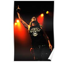 Johnny Solinger of Skid Row Poster