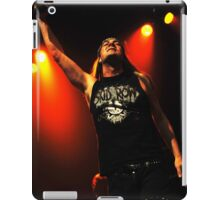 Johnny Solinger of Skid Row iPad Case/Skin
