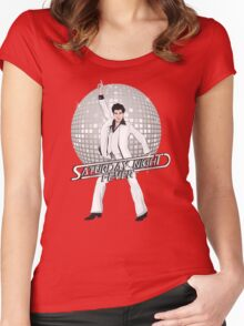 Saturday Night Fever Women's Fitted Scoop T-Shirt