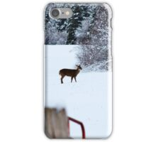 The Timid Traveler  iPhone Case/Skin