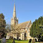 All Saints Church by John (Mike)  Dobson