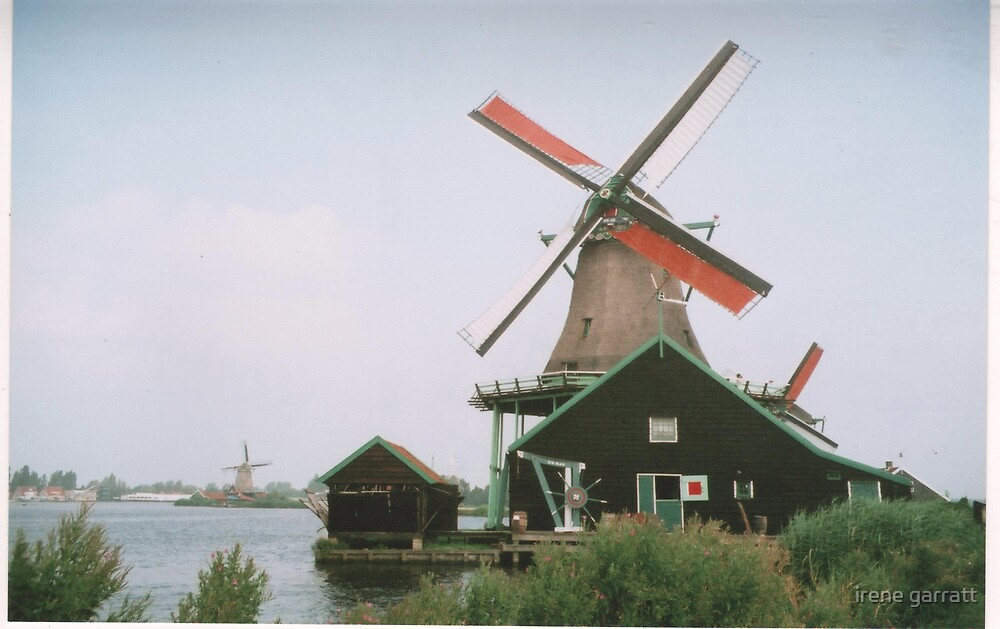 A windmill in Holland by irene garratt