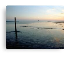 the Waddensea, the Netherlands Canvas Print