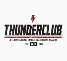 Thunderclub Wrestling Academy by newdamage