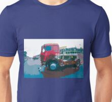 "Unique and rare 1980 Race Trucks France 15 (c) (t) "" fawn paint Picasso ! Olao-Olavia by Okaio Créations Unisex T-Shirt"