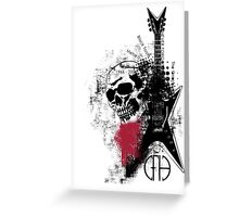 Trash Polka Dimebag Darrell Greeting Card